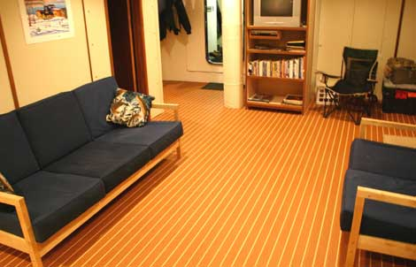 Teak And Holly Flooring For Boats Floor Matttroy
