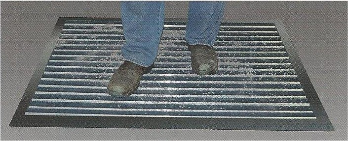 The Well Made Aluminum Roll Up Rail Mat
