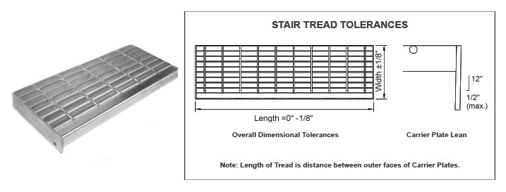Lionhearted Stair Tread Grates