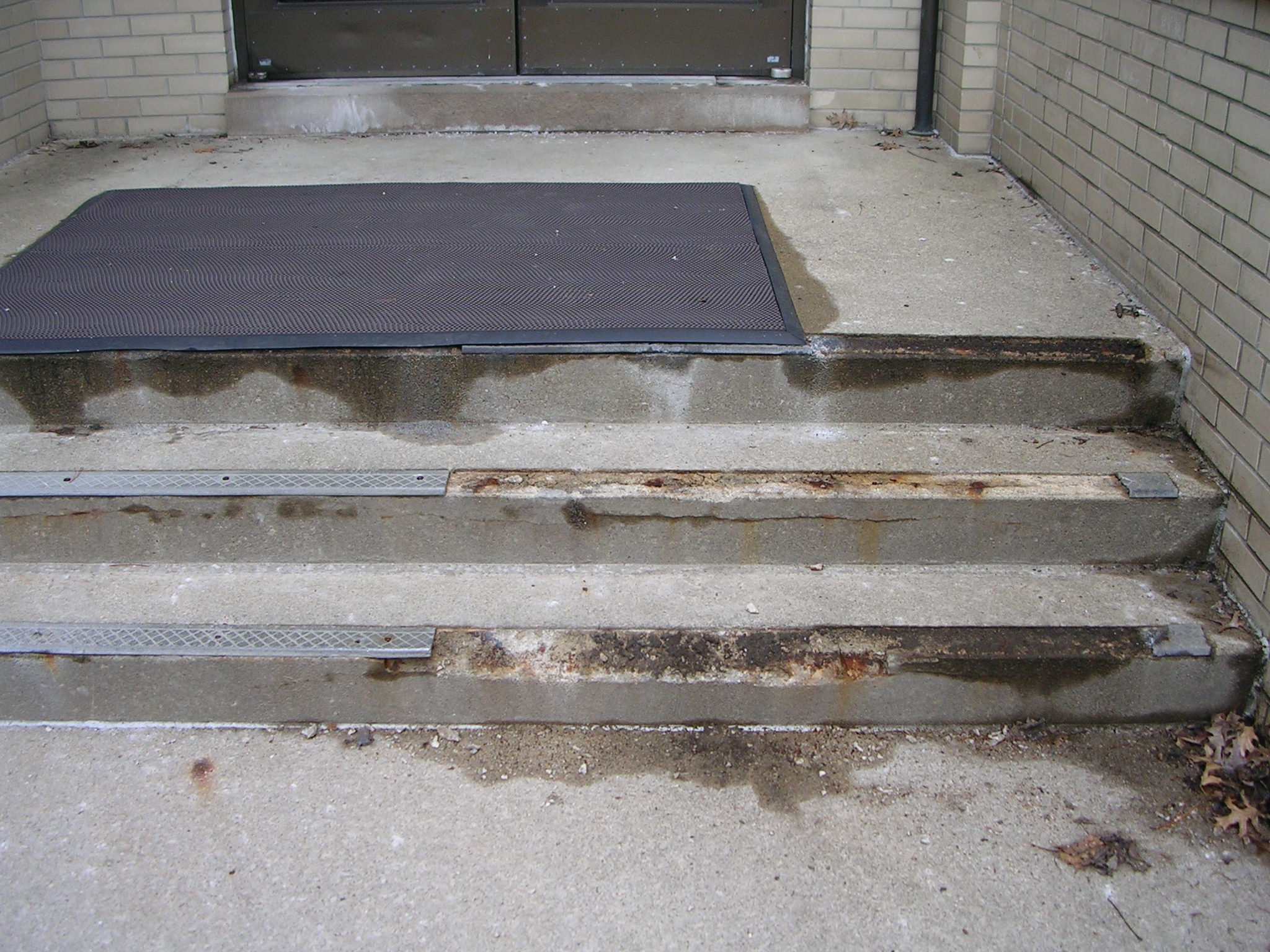 Stair Repair Aluminum Renovation Treads