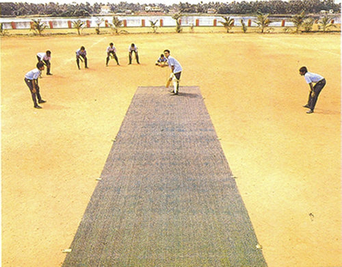 pitching matting using cricket mats match business htm pitch industry athletic mat deployed