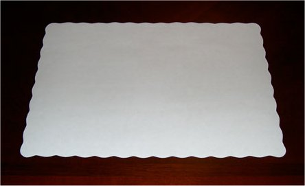 Standard Issue Disposable Paper Tray Mats