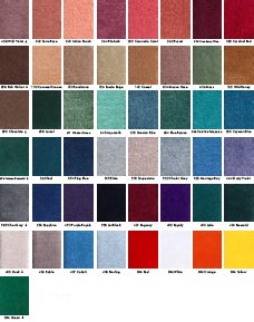 Yard Marker Commercial Quality Inlaid Carpet Mats