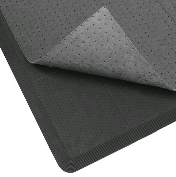 Oil Stopper Rubber Mat with Disposable Inserts