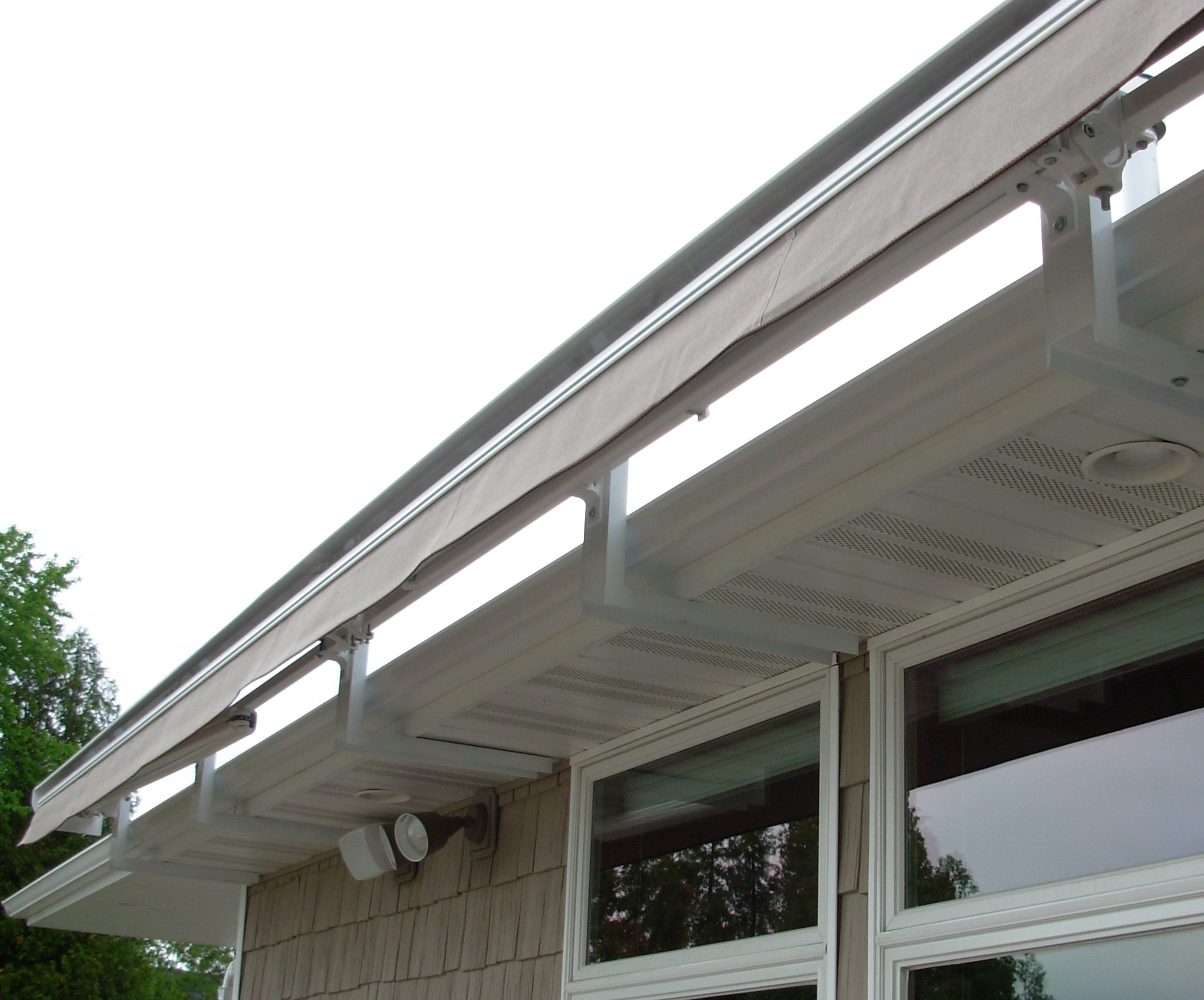 Custom Soffit Mounting Bracket